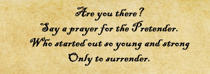 Pretender Prayer